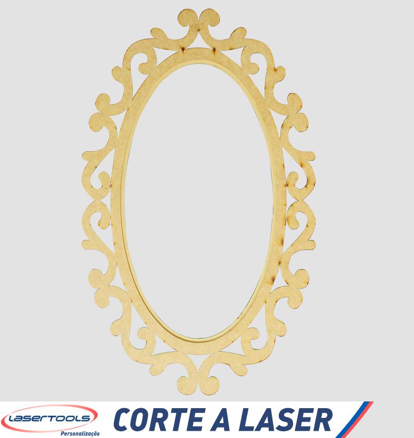Corte a Laser - Moldura para espelho