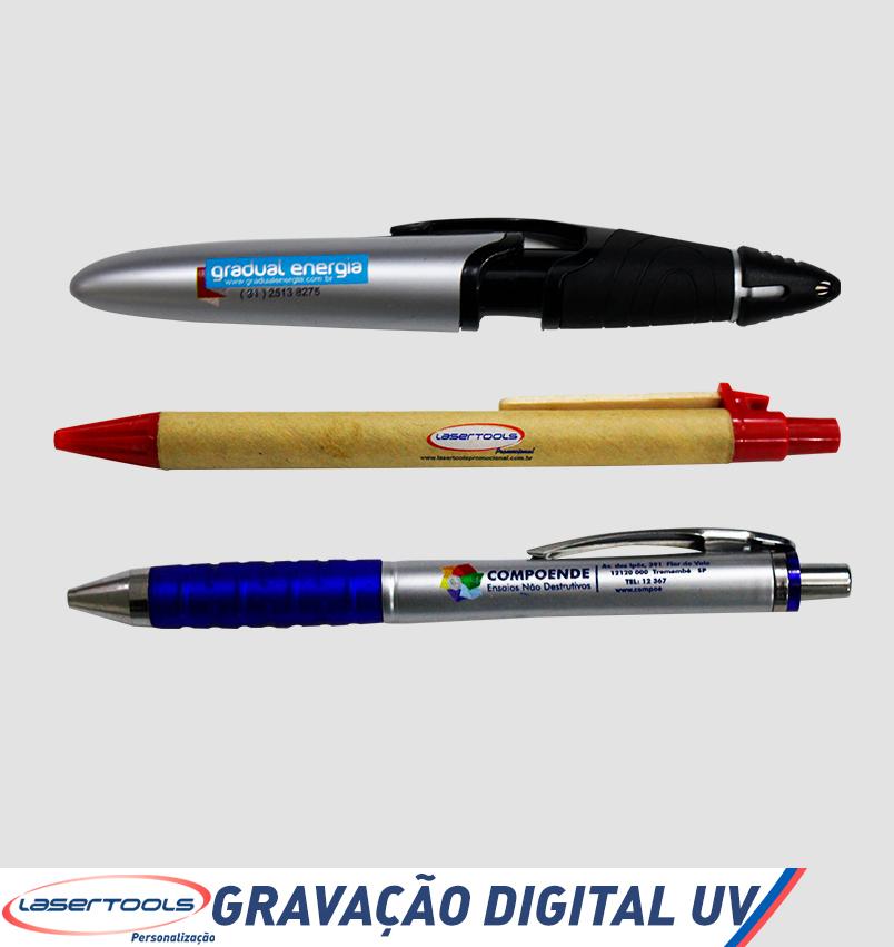 Digital UV - Canetas