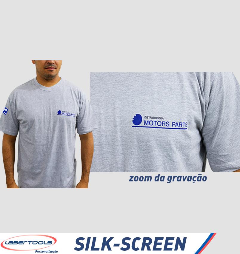 Silk-Screen - Gravação em Camiseta