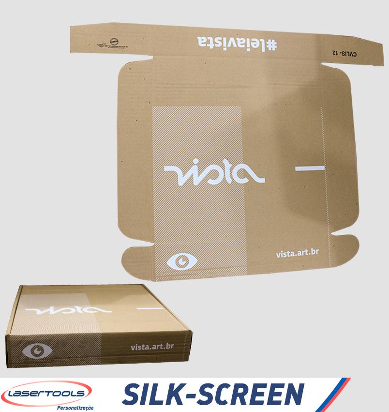Silk-Screen - Caixa de papelão
