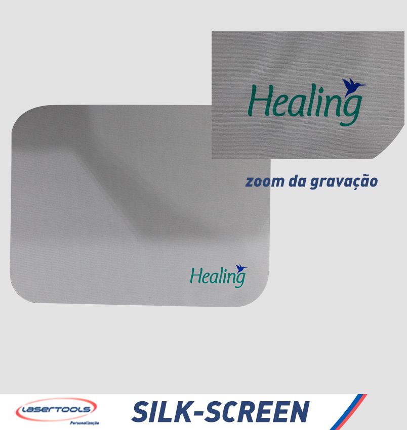 Silk Screen - Gravação em Pano