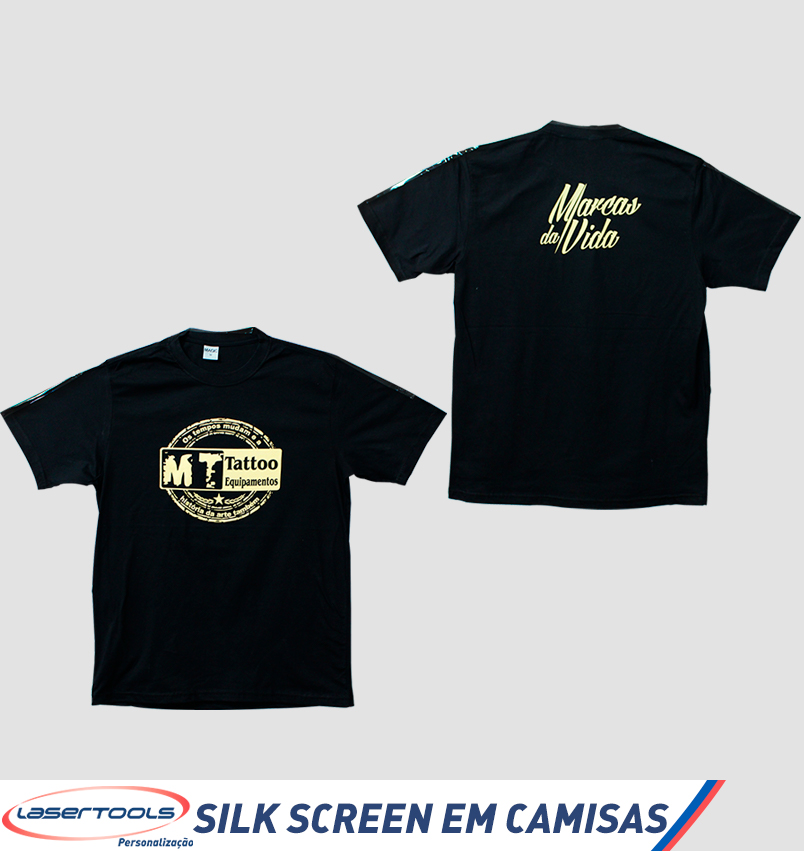 Silk-screen em camisetas